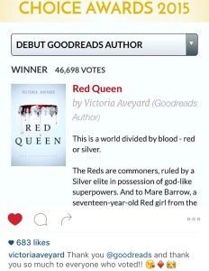 goodreads red queen