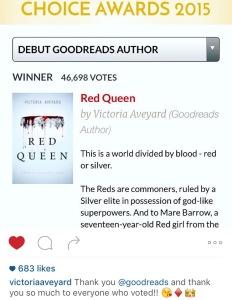 goodreads red queen