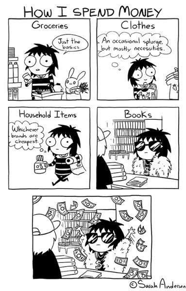 book life spend money