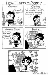 book money cartoon