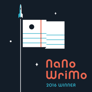 2016 NaNoWriMo Winner