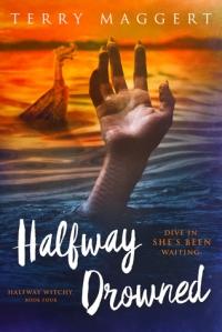 halfway drowned