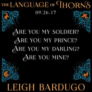 the soldier prince_language of thorns