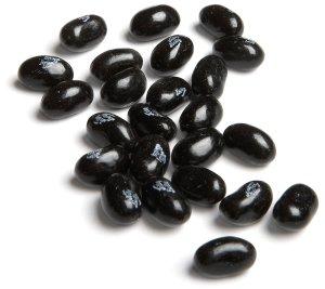 black jellybeans