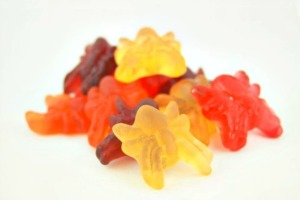gummy spiders