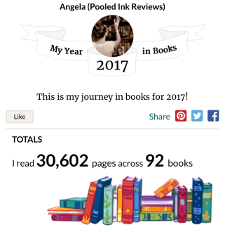 My year in books 2017 goodreads_1