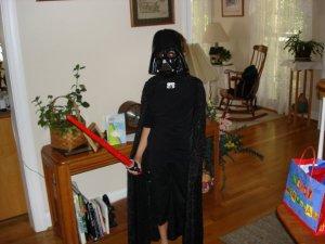 Angela Darth Vader
