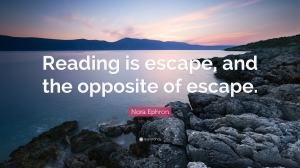 reading escape quote