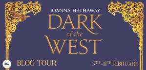 dark of the west tour banner