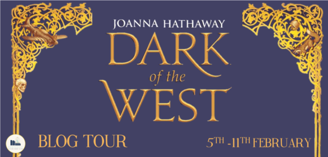 dark of the west tour banner