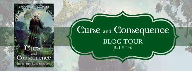 Curse and Consequence Blog Tour Banner