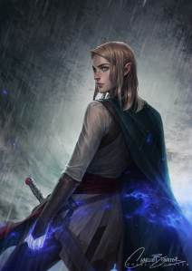 aelin by charlie bowater