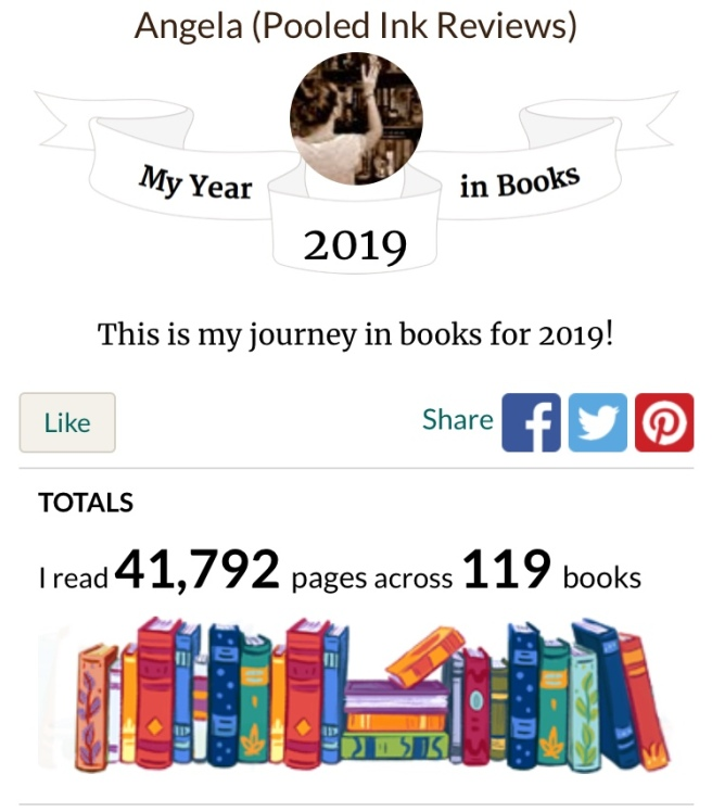 My year in books 2019 goodreads_1