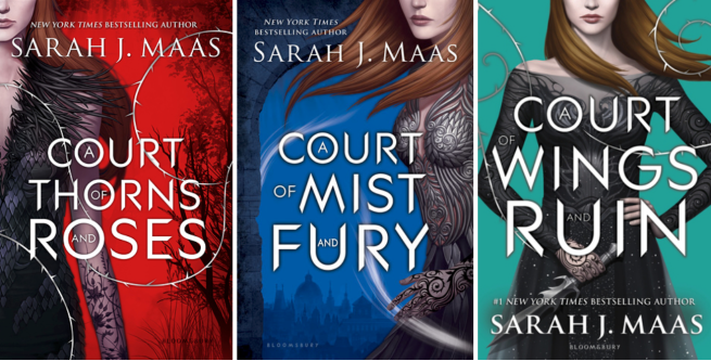 ACOTAR covers
