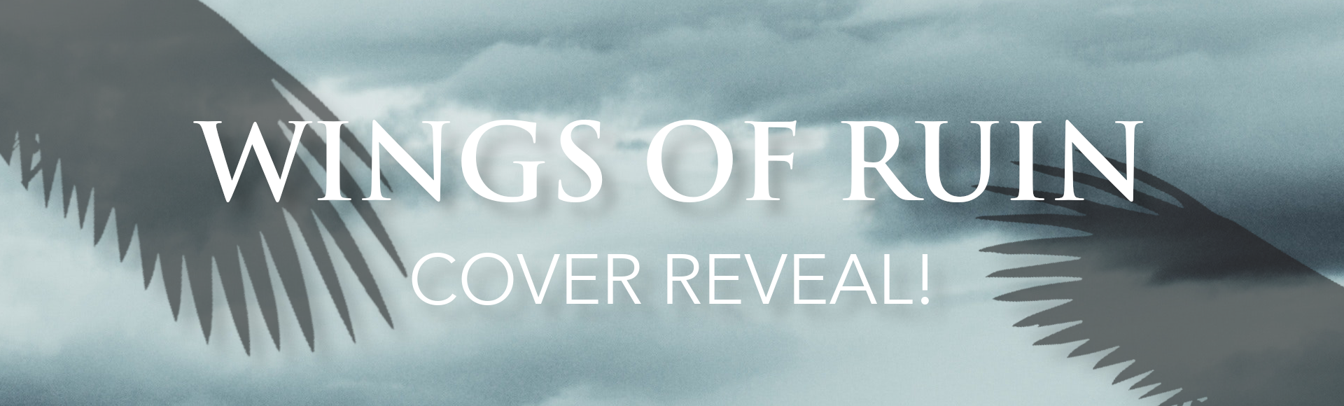 wings of ruin cover reveal banner pooled ink