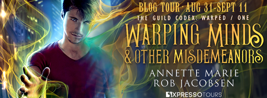 Warping Minds tour banner
