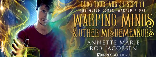 Warping Minds tour banner
