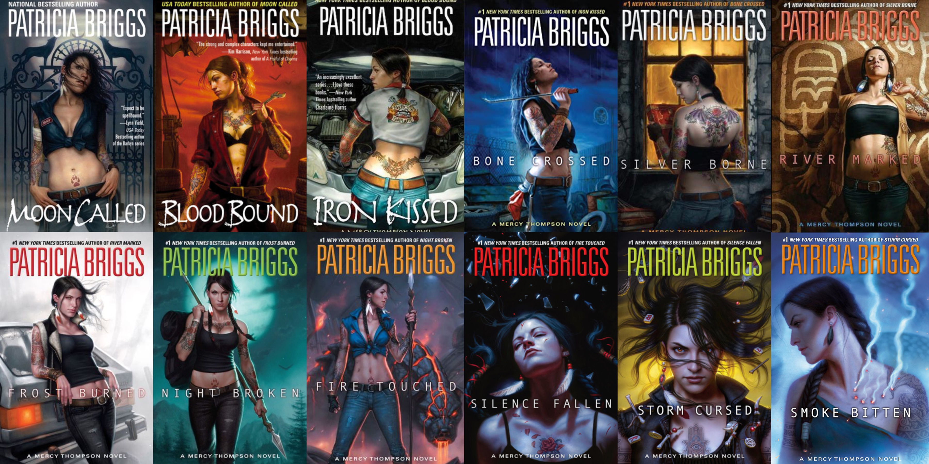 Mercy Thompson Series